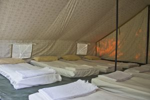 Tented Dormitory