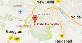 Zorba The Buddha Map